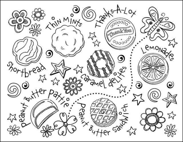 Cookie Coloring Pages - Best Coloring Pages For Kids
