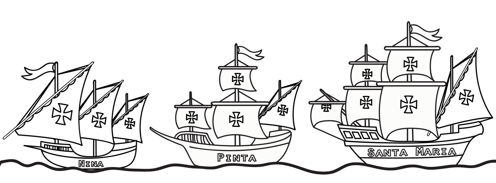Columbus Day Coloring Pages Best Coloring Pages For Kids