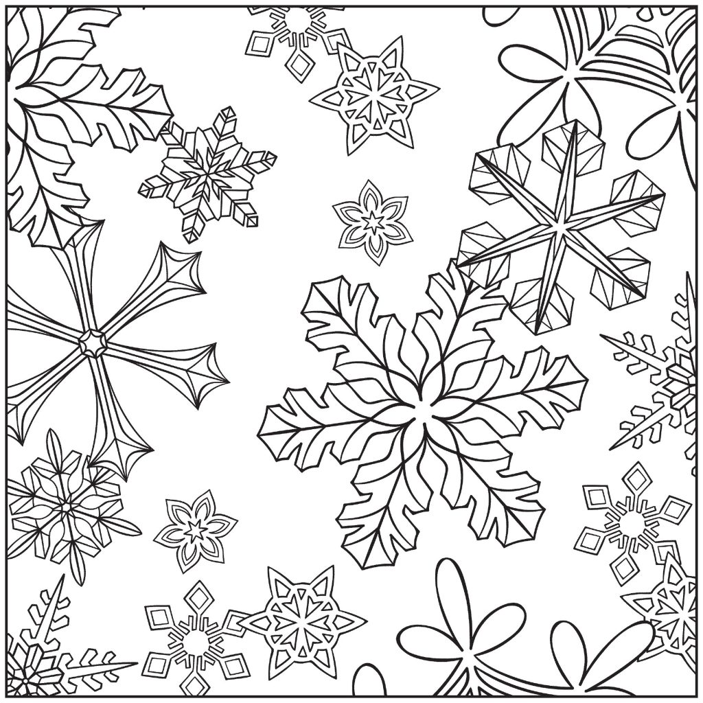 Free Printable Winter Coloring Pages That Are Candid