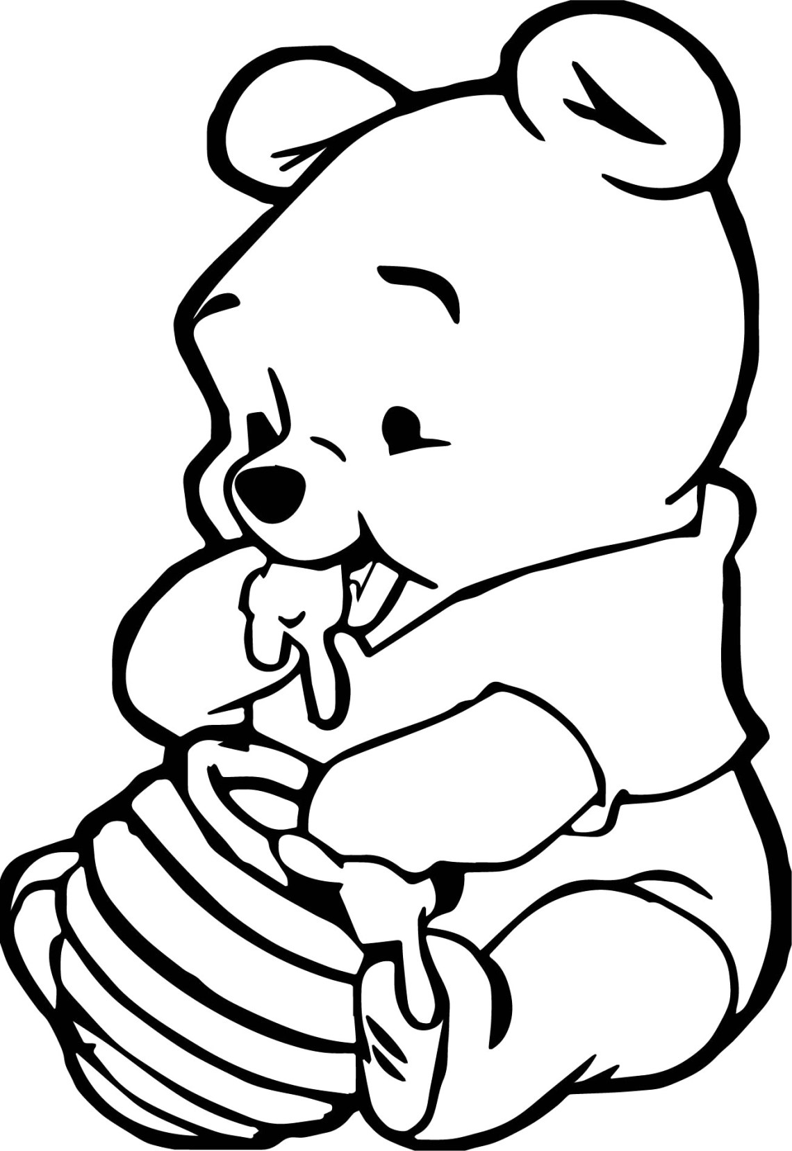 Baby Animal Coloring Pages - Best Coloring Pages For Kids | colouring pages baby animals