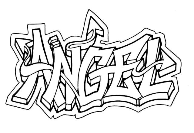 Graffiti Coloring Pages for Teens and Adults - Best Coloring Pages