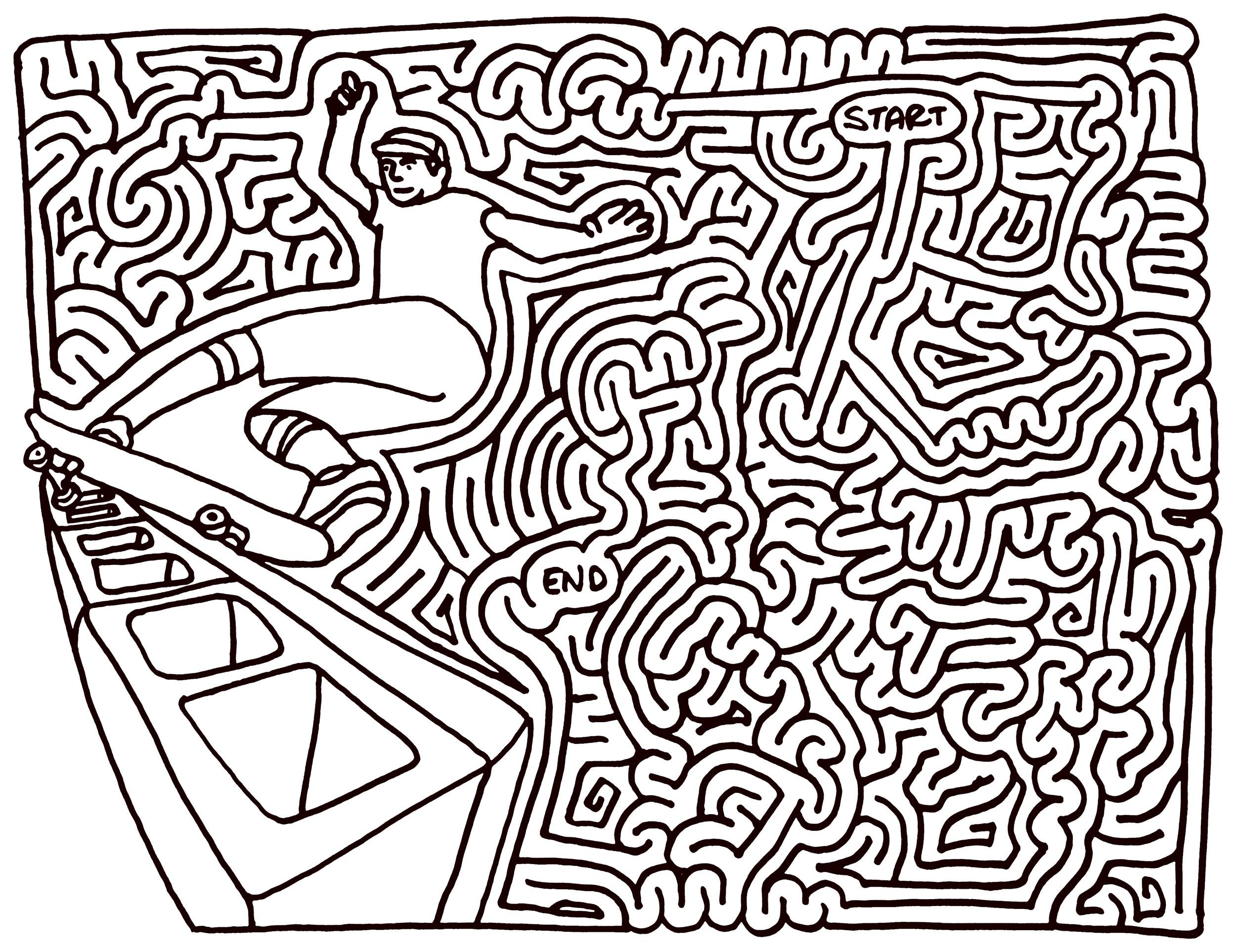 Hard Mazes
