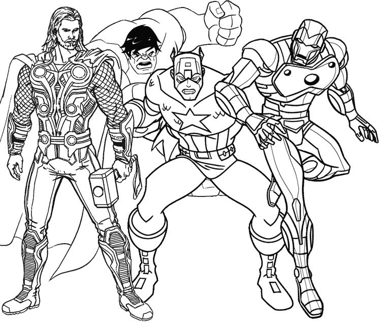 Superhero Coloring Pages Best Coloring Pages For Kids