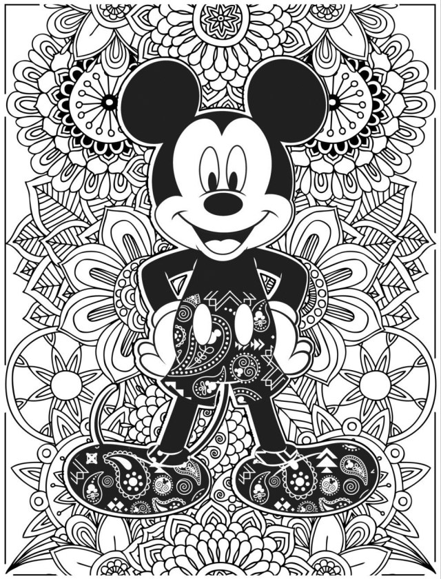 12 Printable Disney Coloring Sheets So You Can FINALLY Have a Few