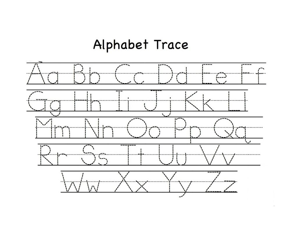 Best Small Letter Alphabets Tracing Worksheets
