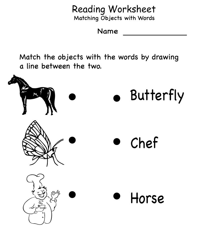 Kindergarten English Worksheets - Best Coloring Pages For Kids | coloring worksheets for kindergarten