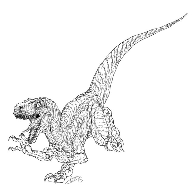 Jurassic World Coloring Pages - Best Coloring Pages For Kids