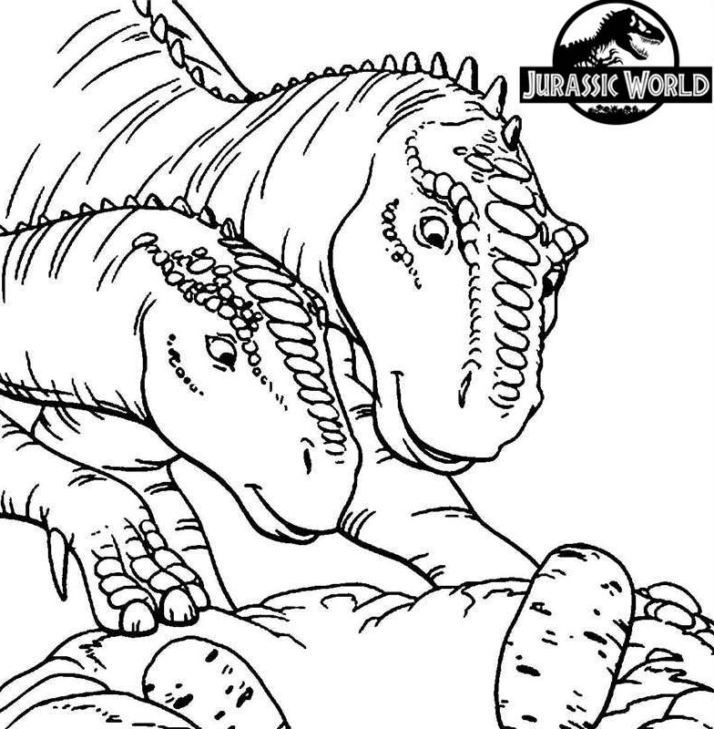 jurassic world coloring pages  best coloring pages for kids