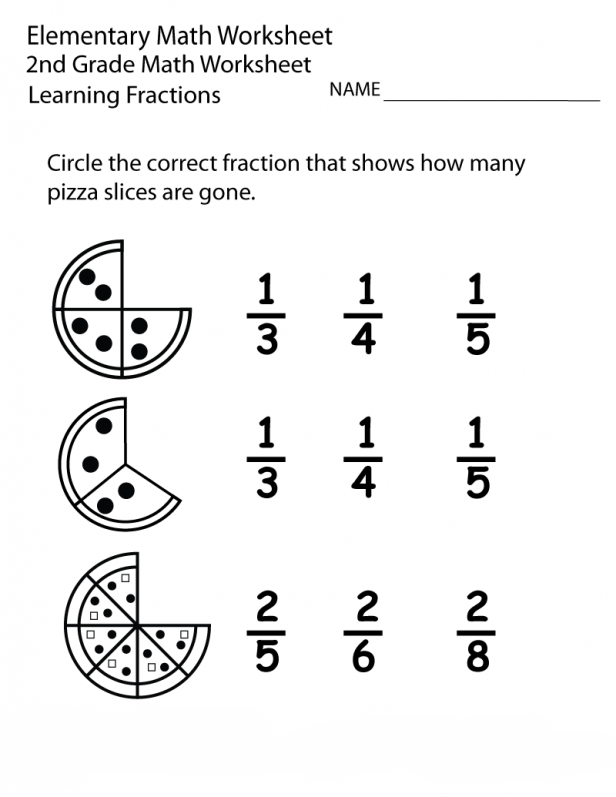 2nd Grade Math Worksheets Best Coloring Pages For Kids