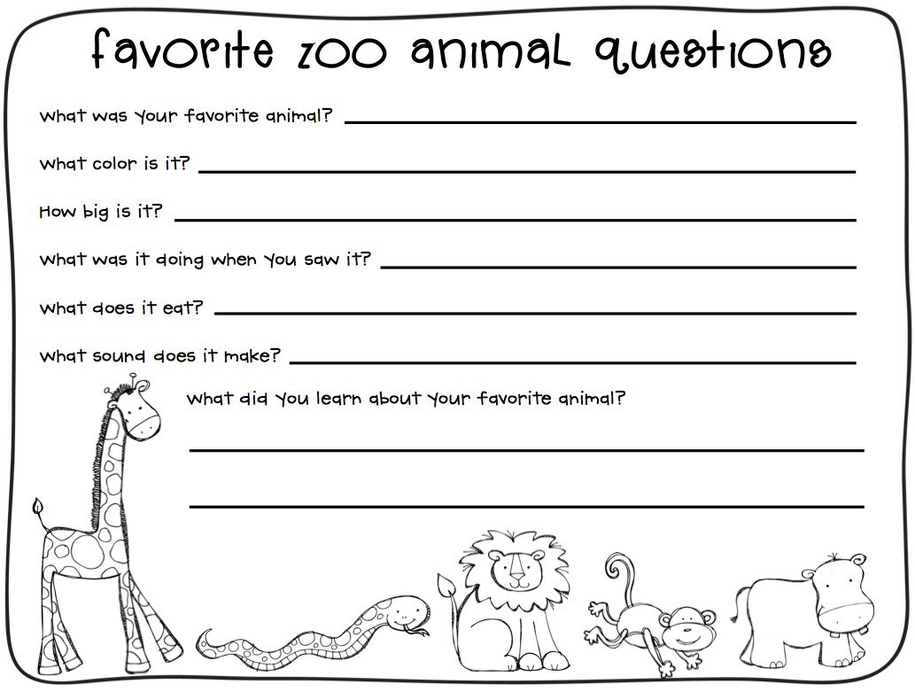 Super Teacher Worksheet Animal Science