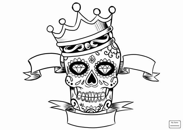 skulls coloring pages # 7