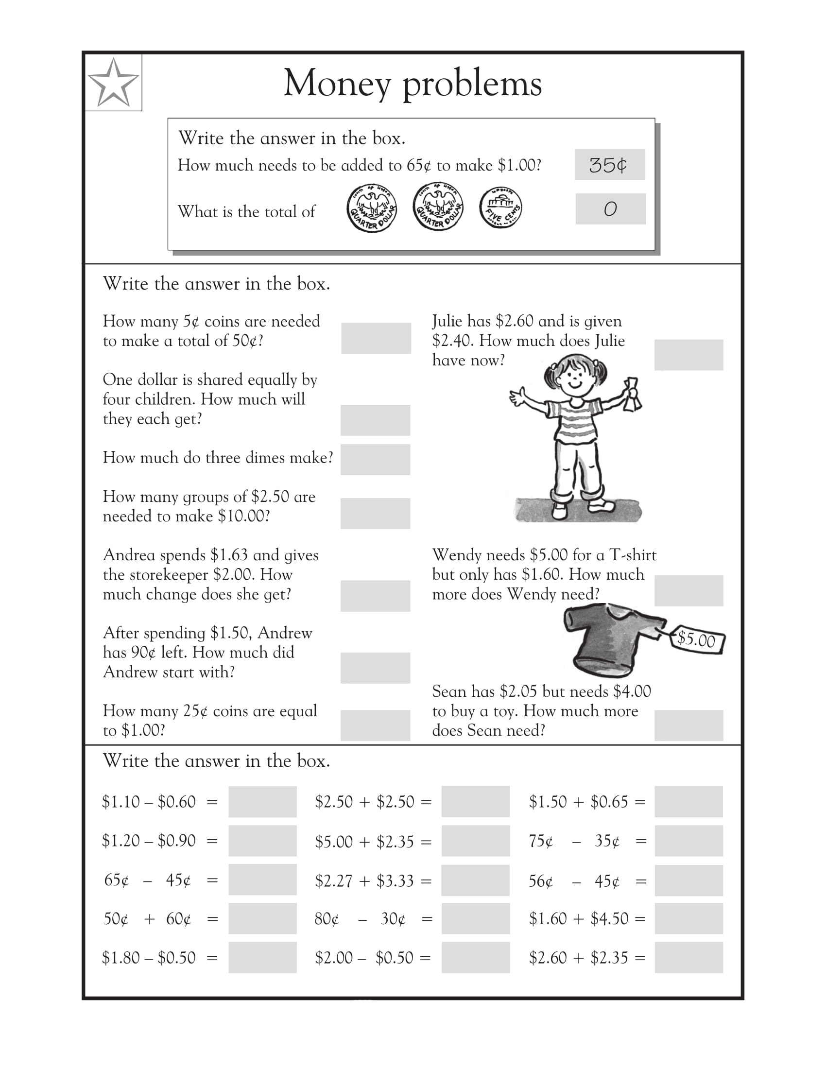 Grade 8 Math Word Problems