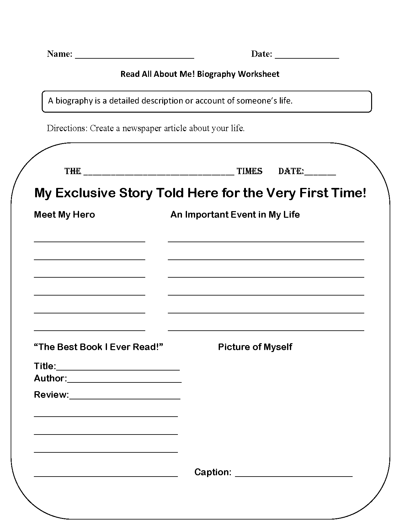 Homeschool Worksheets
