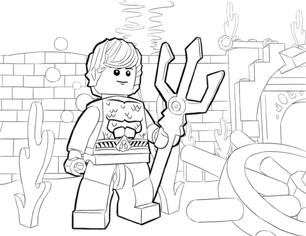 aquaman coloring pages # 56