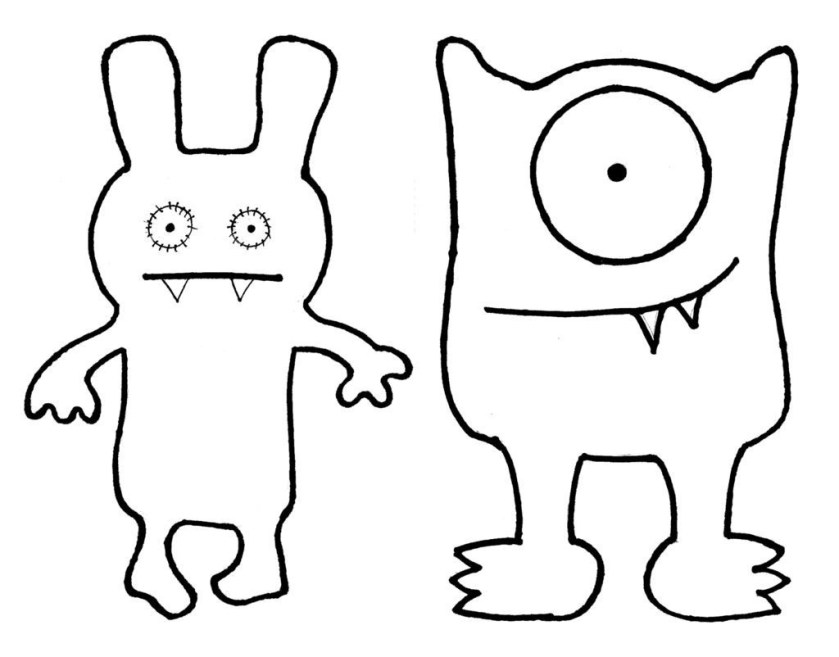 ugly dolls coloring pages  best coloring pages for kids