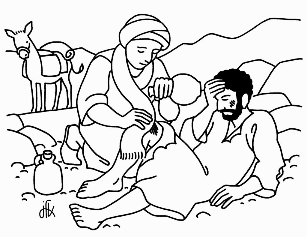 Good Samaritan Coloring Pages