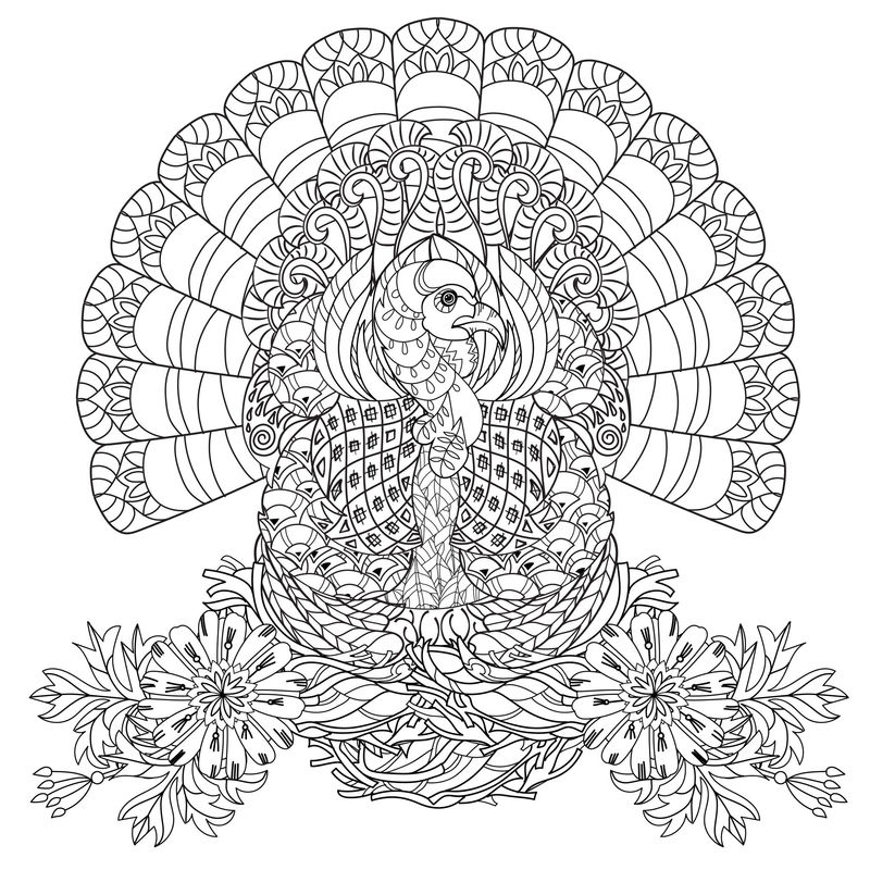 Thanksgiving Coloring Pages For Adults Best Coloring Pages For Kids