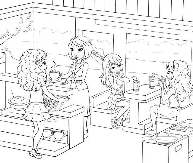 Lego Friends Coloring Pages Best Coloring Pages For Kids