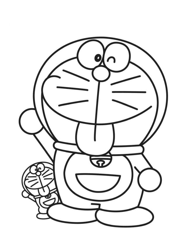 Doraemon Coloring Pages - Best Coloring Pages For Kids