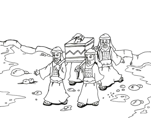 Joshua Coloring Pages - Best Coloring Pages For Kids
