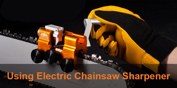 elcetrical chainsaw Sharpener