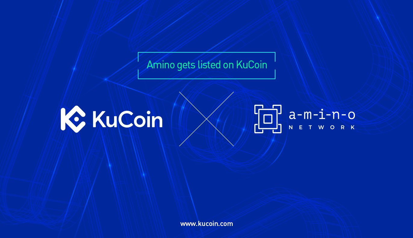 Amino (AMIO) Gets Listed on KuCoin! - Best Cryptocurrency