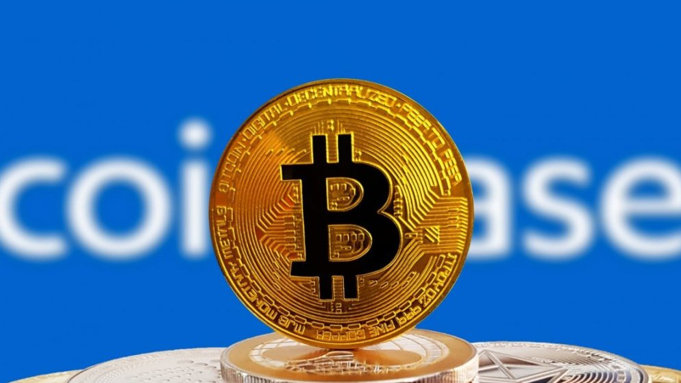 Bitcoin's high price before listing at Coinbase