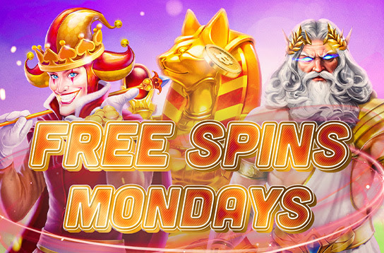 Free Spins Mondays at Bitcoin.com Games