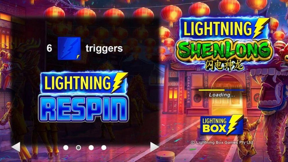 """Lightning box to release new slot called """"Lightning ShenLong"""""""