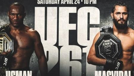 UFC 261 Usman vs. Masvidal 2 at MyBookie