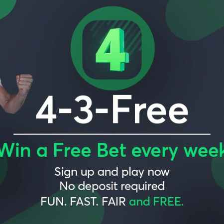 Win a Free Bet every week at Sportsbet.io
