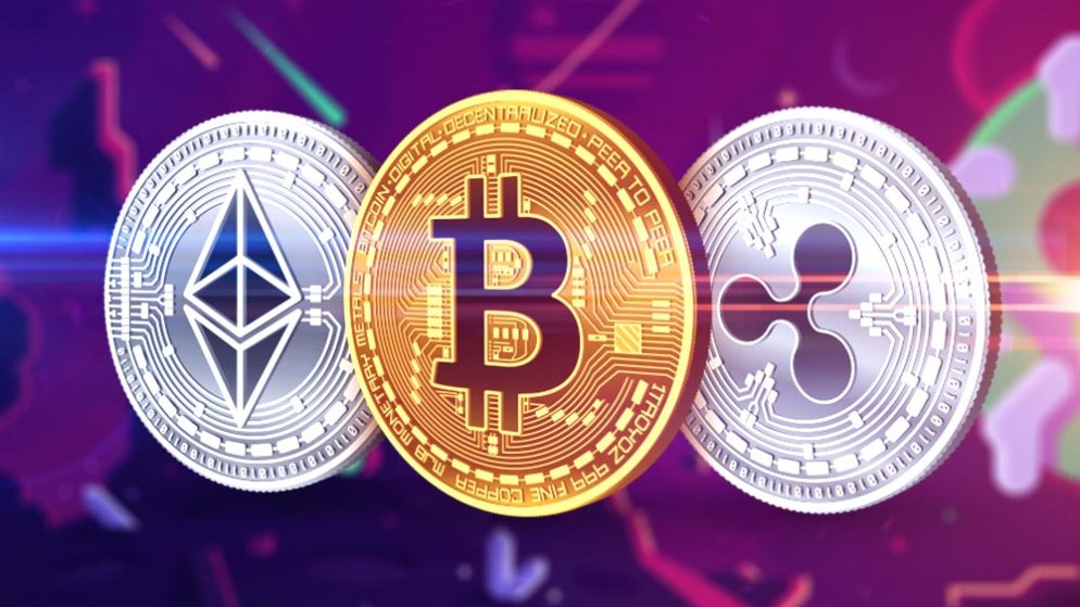 Big losses for cryptocurrencies