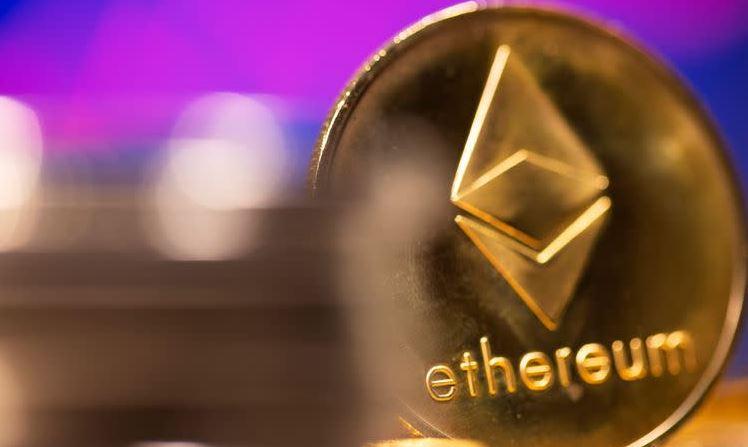 Ethereum's price over $3.000