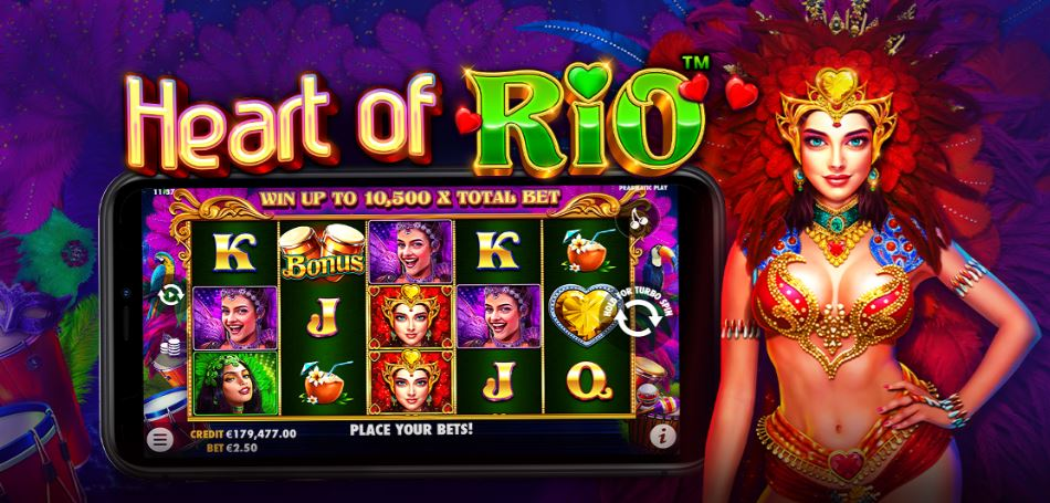"""Pragmatic Play releases new slot called """"Heart of Rio"""""""