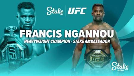 Stake.com sign Francis Ngannou as their fourth brand Ambassador
