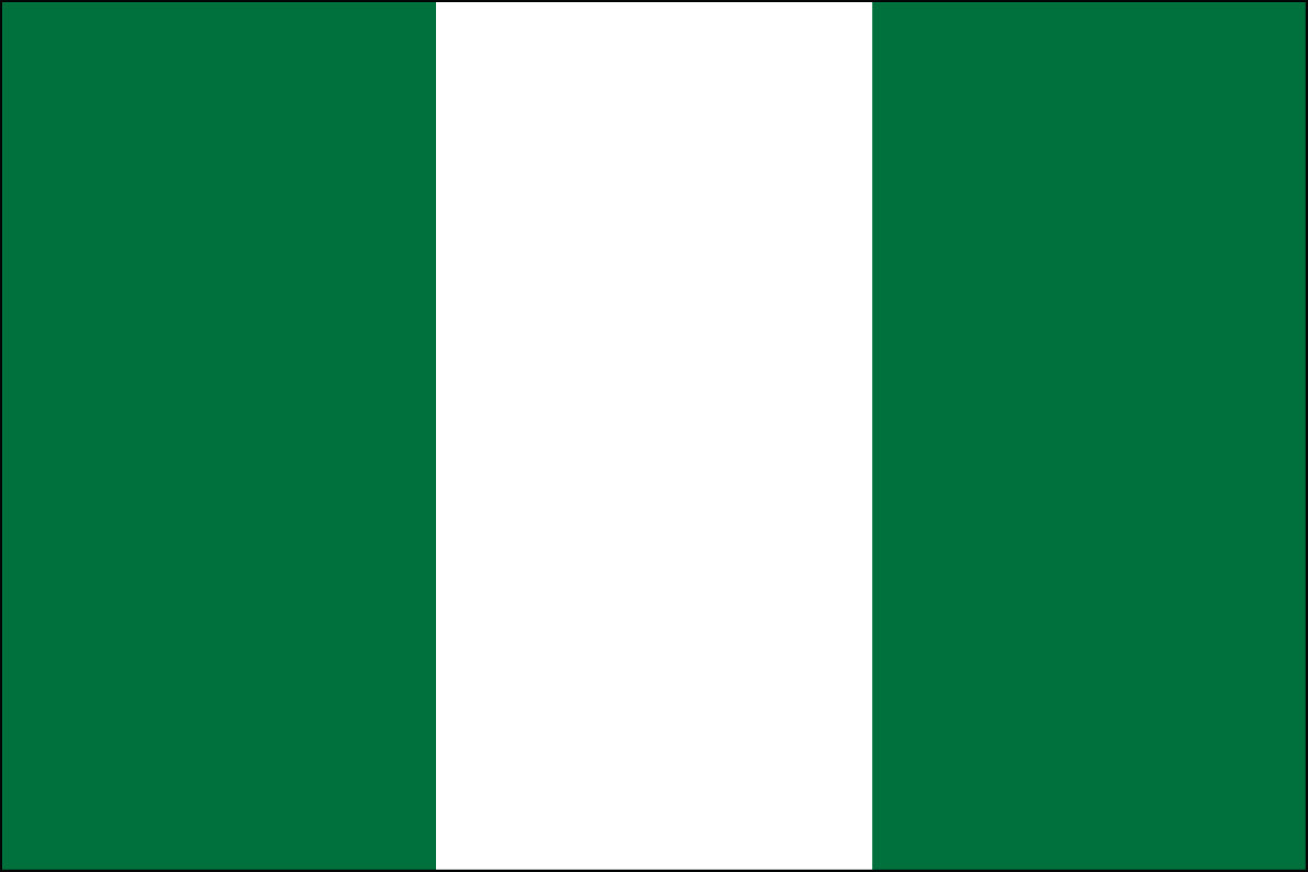Nigeria Flag Coloring Pages