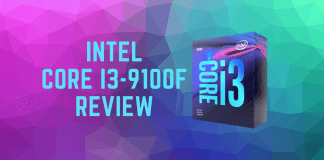 intel core i3-9100F processor review