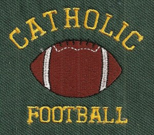 Catholic Football - Adver-Tees Best Deal on Shirts