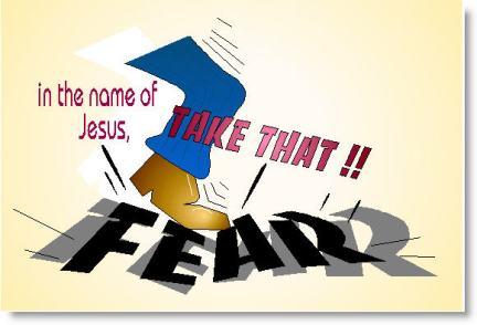 Kick that fear. 2