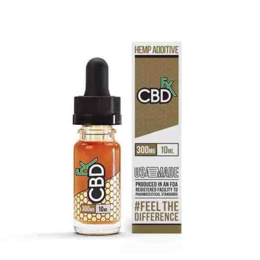 CBDfx-CBD-Hemp-Additives-300mg CBD oil vape dosage