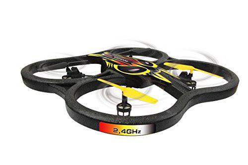 drone invader nero e giallo