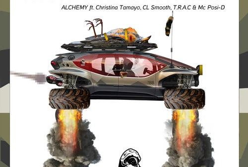 "The Burner Brothers, Christina Tamayo, CL Smooth, T.R.A.C. & MC Posi-D Conjure up Sorcery with ""Alchemy"""