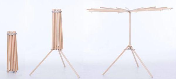 tripod clothes drying rack