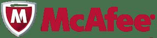 logo van mcafee antivirus software