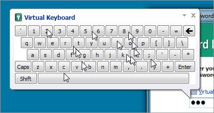 Virtueel toetsenbord