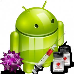 android geinfecteerd met een virus