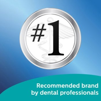 Recommended brand by dental professionals