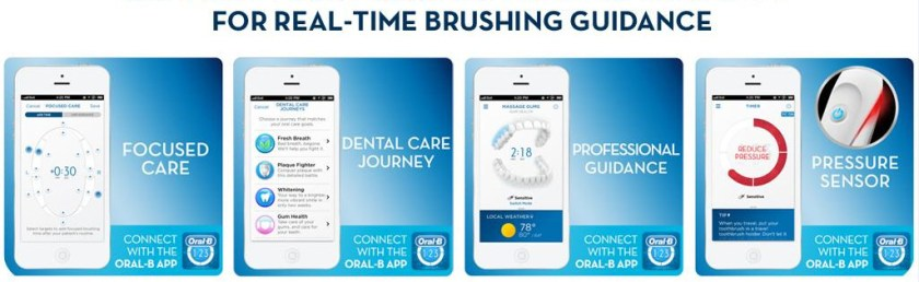 Oral-B real-time brushing guidance