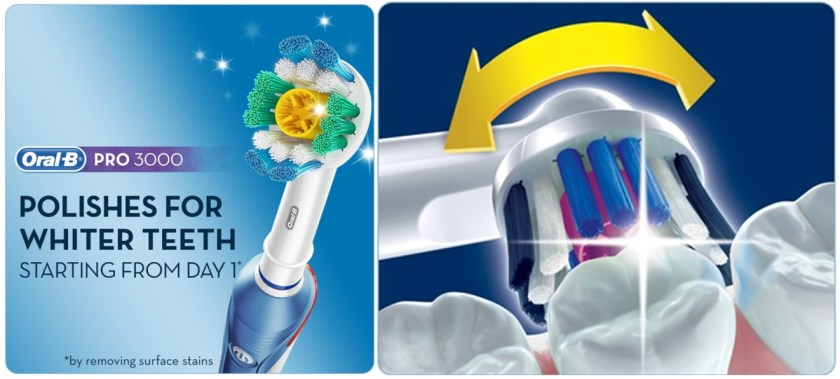 Oral-B Pro 3000 feature