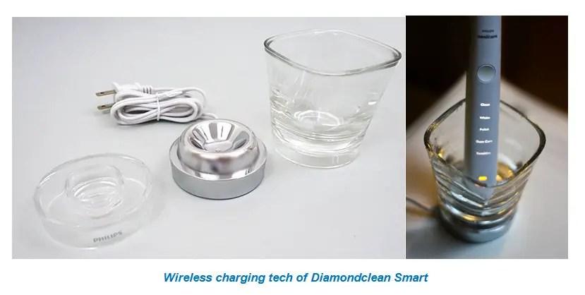 Wireless charging tech of Diamondclean Smart